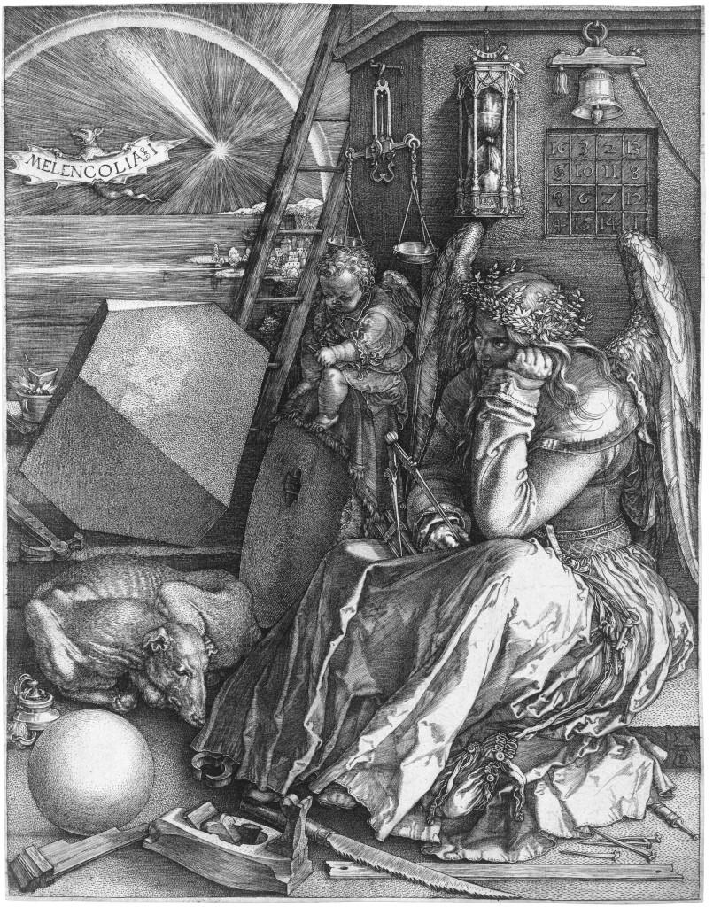 Albrecht Durer. Melencolia I, 1514.