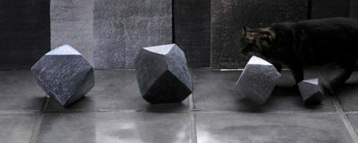 Sarah Scampton. Durer's Solids I-IV, 2011.
