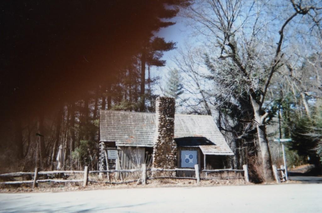 Snapshot of the Weaving Cabin, Penland, NC.